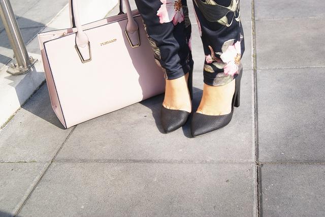 czarne asymetryczne szpilki zalando zakupy blog