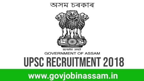 Union Public Service Commission Recruitment 2018, upsc recruitment 2018