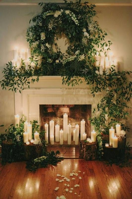 ideas de decoracion bodas invernales