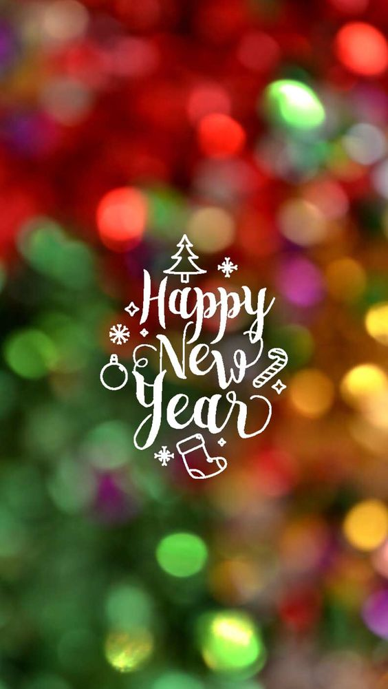 Happy new year 2018 mobile HD wallpaper