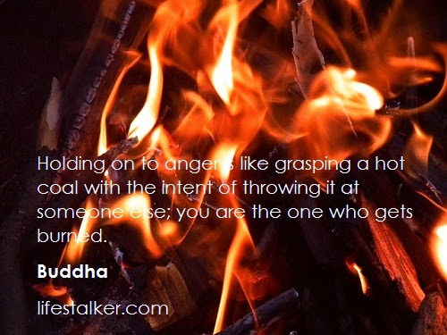 buddha on anger