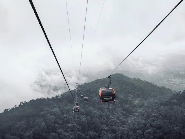 Cable Cars Ba Na Hills