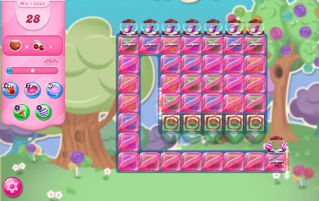 Candy Crush Saga level 6585