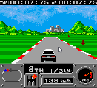 【GBC】賽車2005中文版,好玩的賽車類型遊戲!