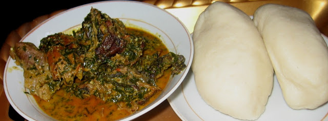how to cook vegetable soup with ugu and waterleaf