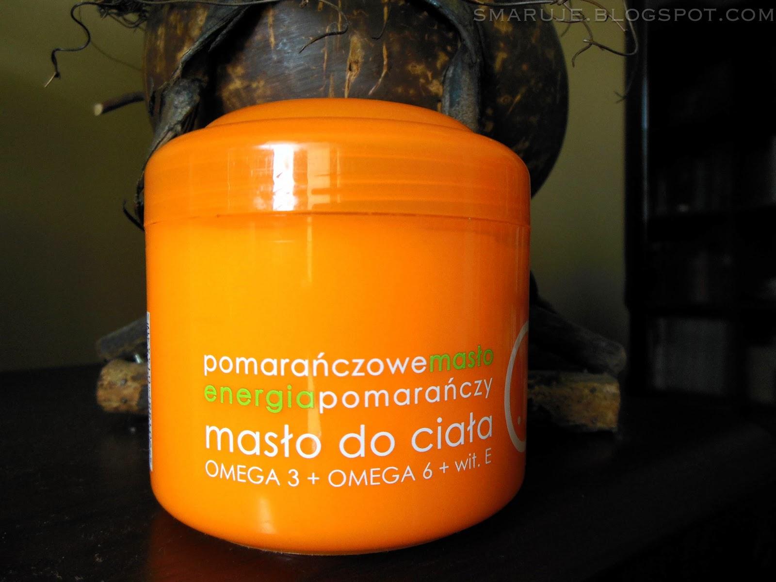 Ziaja – Energia pomarańczy – pomarańczowe masło do ciała /recenzja/