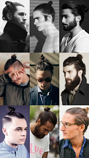 Best Haircuts for Men Long Hair with Bun