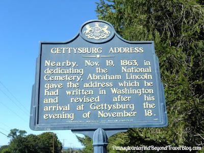 Gettysburg Address - Historical Marker