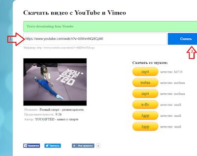 Сервис givemevideo