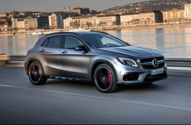 Test Driving The 2018 Mercedes-AMG GLA45