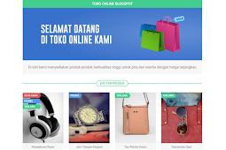 Template VioToko Toko Online Blogspot Responsive & Fast Loading Free