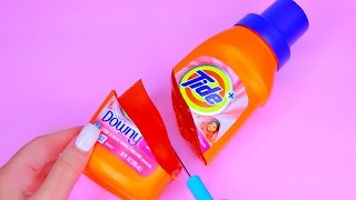 How To Make Real TIDE Detergent Laundry Pudding Jelly TOY Learn the Recipe DIY