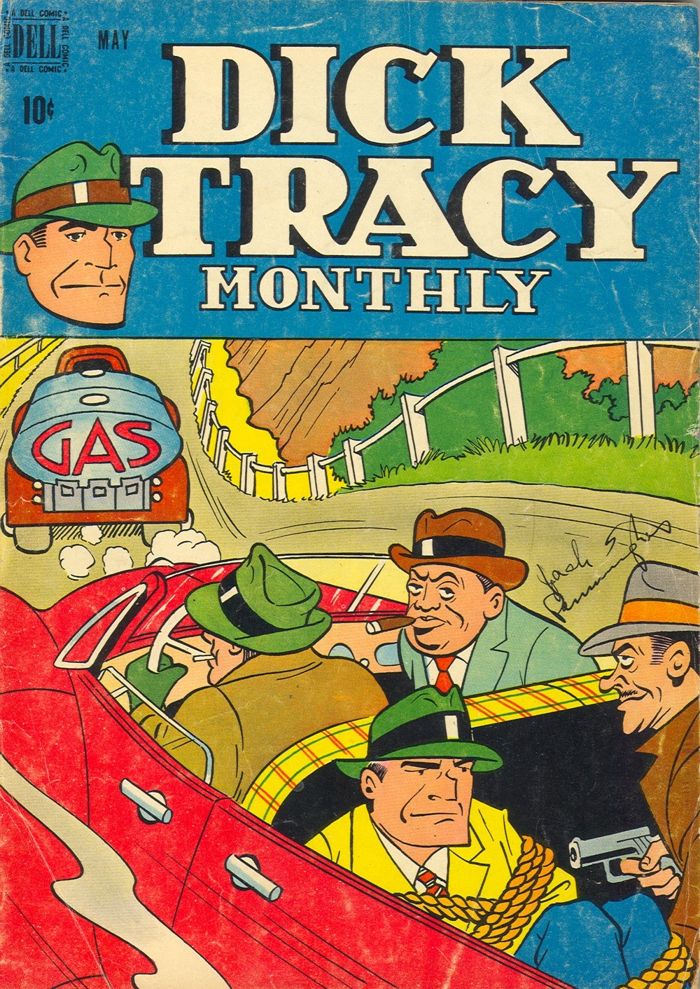 Dick Tracy Monthly 17 Page 1