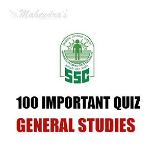 100 Most Expected GS Questions For SSC CGL | CPO Exam : 24.11.18