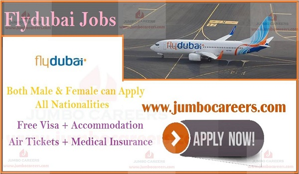 Flydubai Airlines Latest Jobs by Dubai Government March 2019