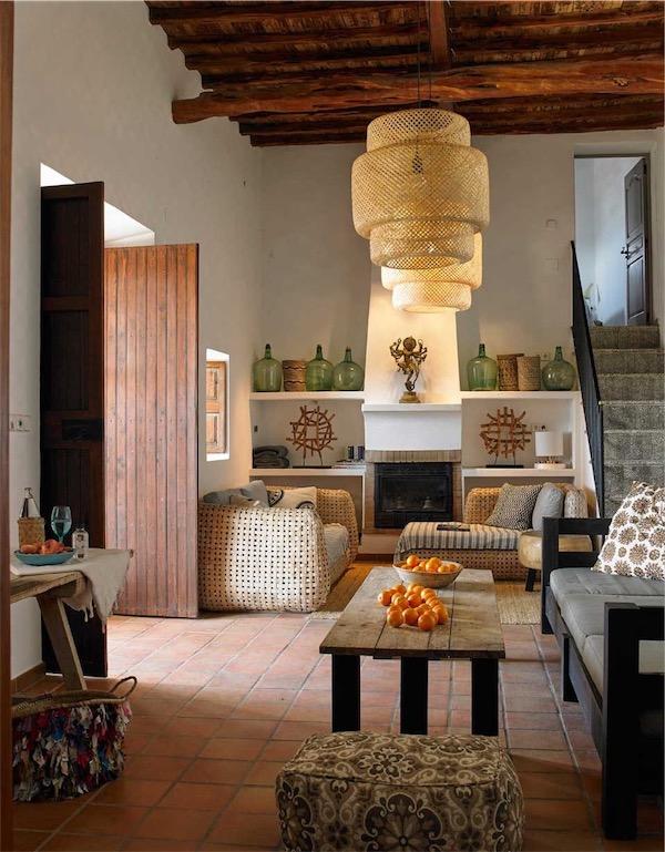 Finca Cubala, evocadora decoración mediterránea chicanddeco