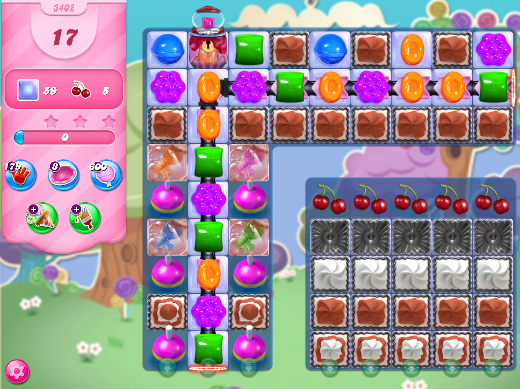 Candy Crush Saga level 3402