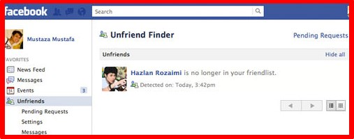 see who unfriended you on facebook