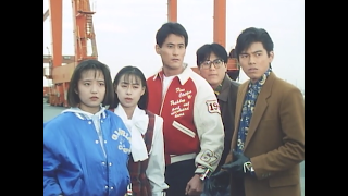 Chōjin Sentai Jetman cast: Ako, Kaori, Ryu, Raita and Gai