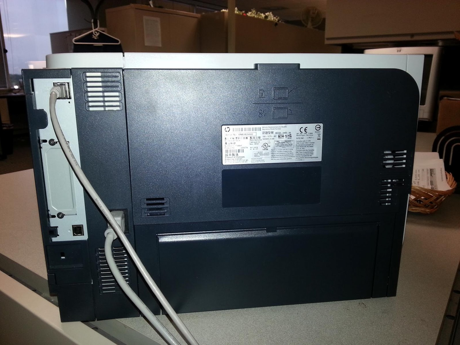 hewlett packard p3015 how to print a network. Black Bedroom Furniture Sets. Home Design Ideas
