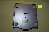Rückseite: Smart Weigh Digitale/Mechanische Leichtgewicht-Küchen- und Nahrungsmittelwaage mit LCD-Display und Zifferblatt, schwarz