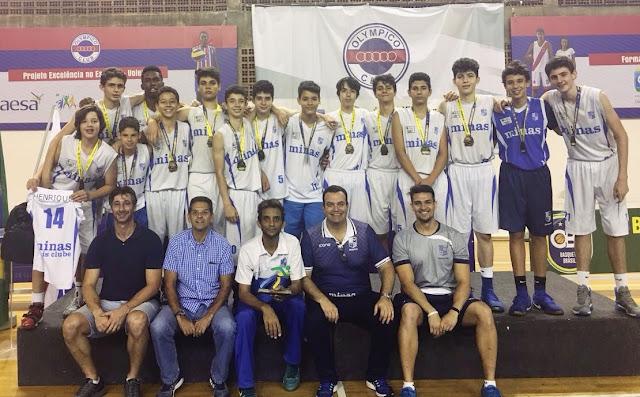 Minas conquistou título inédito da Copa Brasil Sub14 [Divulgação/Minas]