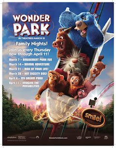 WIN Four (4) Free Ovation Meal Passes, A Paramount Picnic Blanket, and A Wonder Park Movie Poster