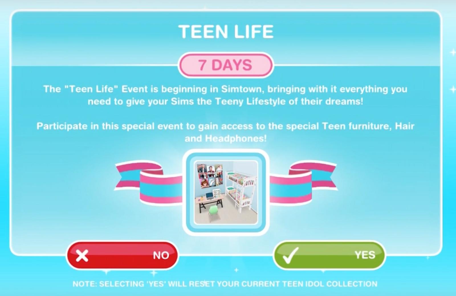 Sims Teen Life 9