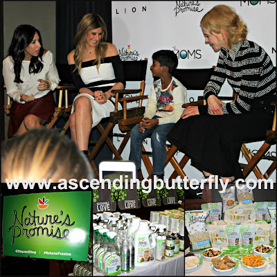 @LionMovie #LionHeart The Moms Screening with Nicole Kidman Talkback Collage with Sunny Pawar