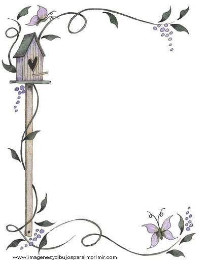 Bordes para decorar hojas Nuevas imágenes ☟ | Imagenes y dibujos ...