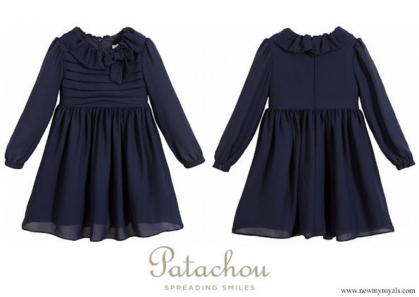 Princess Estelle wore Patachou dress
