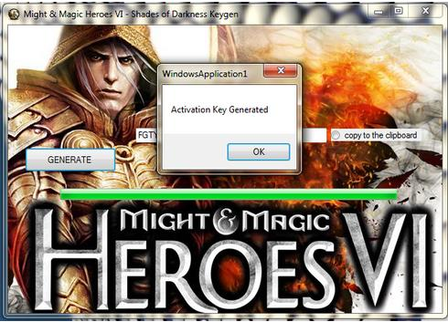 might and magic heroes 6 keygen