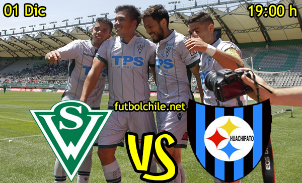 Ver stream hd youtube facebook movil android ios iphone table ipad windows mac linux resultado en vivo, online: Santiago Wanderers vs Huachipato