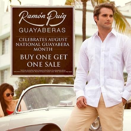 8d0ed2ef Compartiendo mi opinión: La Guayabera: la elegancia cubana del buen vestir