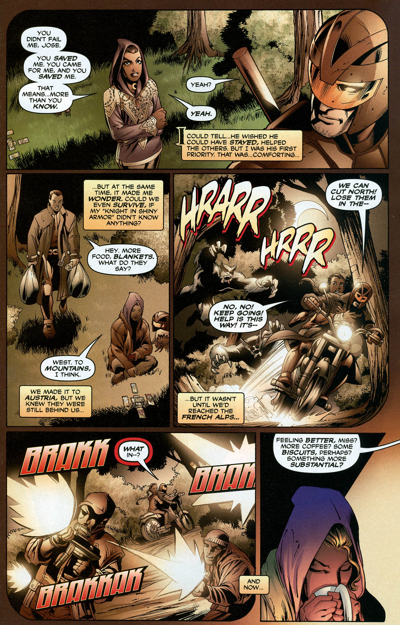 Read online Trinity (2008) comic -  Issue #19 - 5