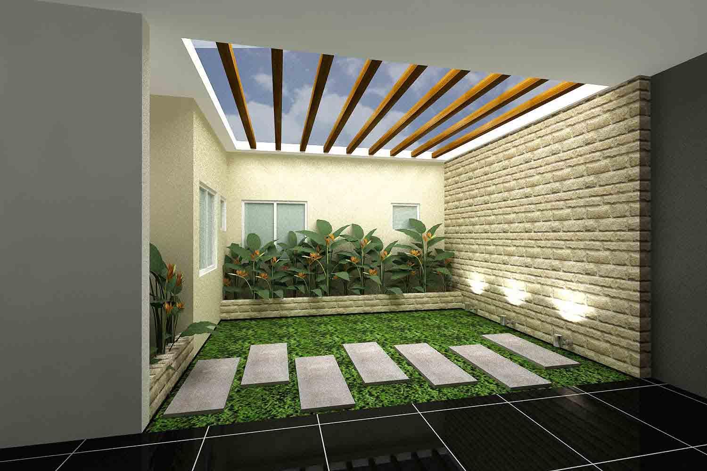 Lee Seon Yeon Desain Terbaru Taman Minimalis Indoor