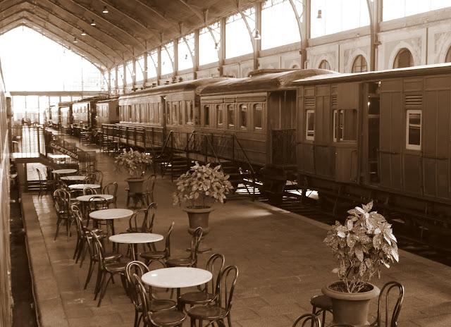 Estación de Delicias. Museo del Ferrocarril de Madrid