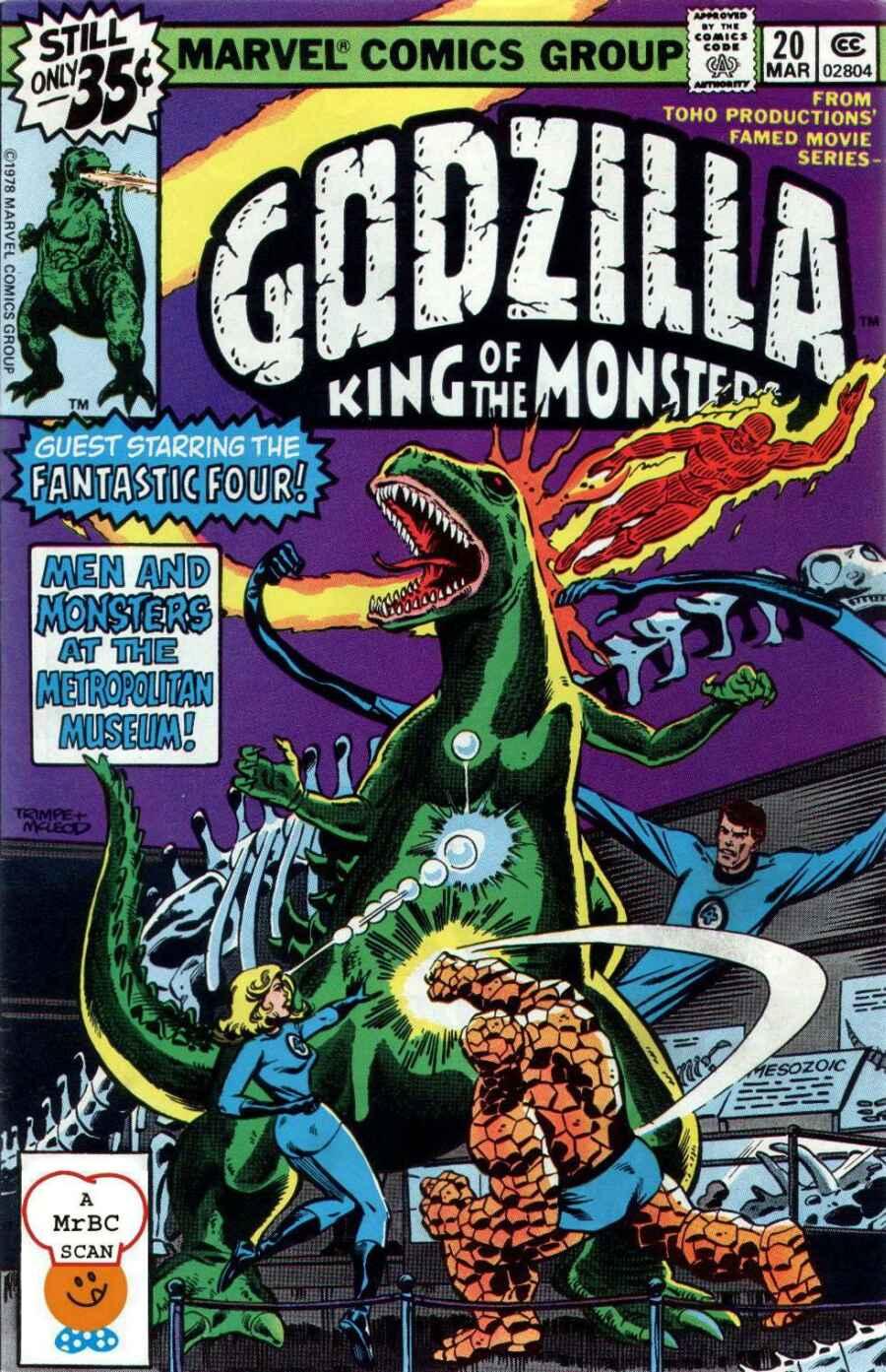 Godzilla (1977) 20 Page 1