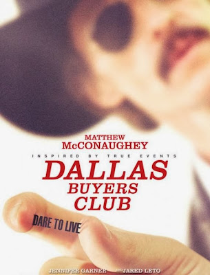 Poster Of Hollywood Film Dallas Buyers Club (2013) In 300MB Compressed Size PC Movie Free Download At worldfree4u.com