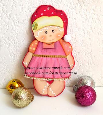 adornos-navideños-foami-manualidades