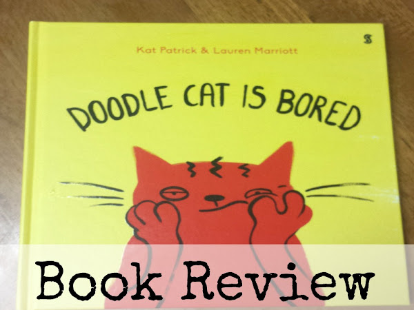 Doodle Cat Is Bored {Book Review}