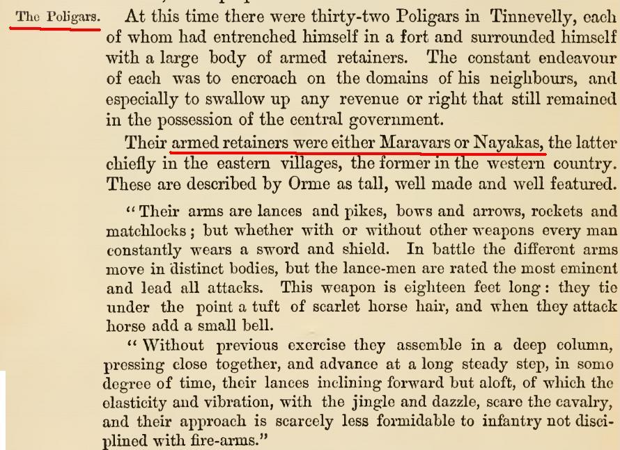 Maravar caste meaning