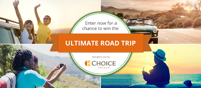 Trip Advisor has teamed up with Choice Hotels to offer you a chance to win the ultimate road trip consisting of nearly $4000 CASH, a gift card to Choice Hotels worth $1000 and a GoPro camera!