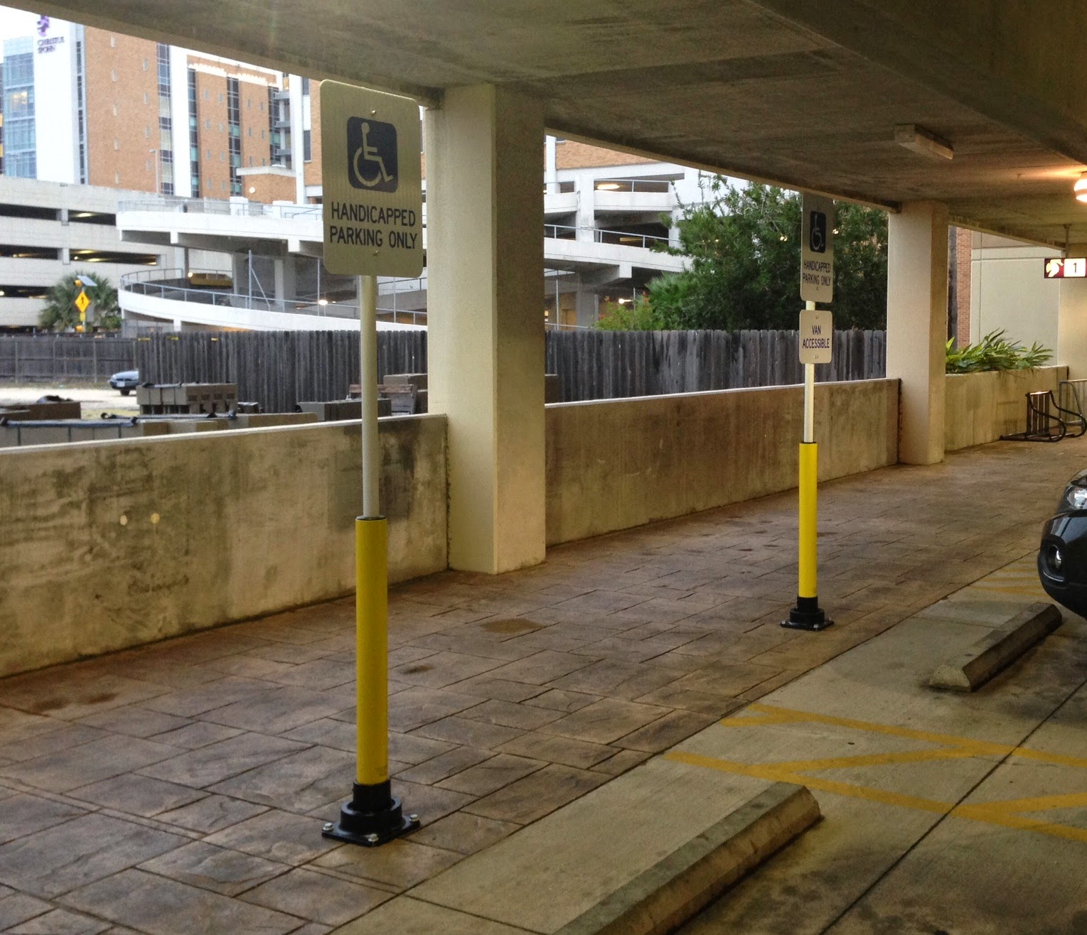These Innovative Parking Garages Are Anything But: Bollard Blog: Frangible Bollards For Structural Concrete