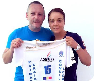 ADE Gas - sponsor SCM Craiova handbal feminin