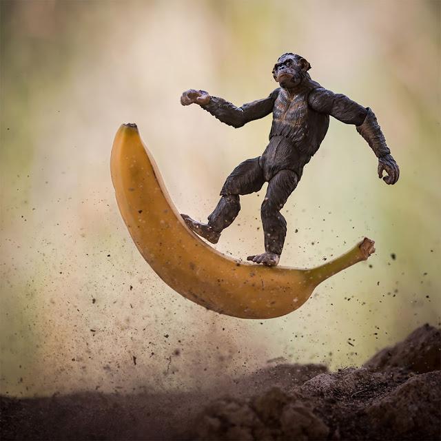 Кинг-Конг на банане