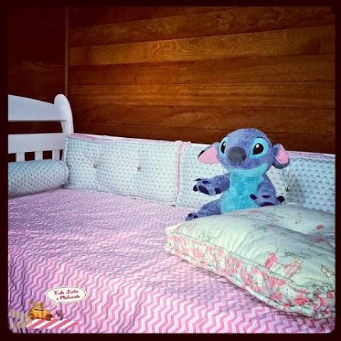Eu que fiz: Jogo de cama para cama-babá