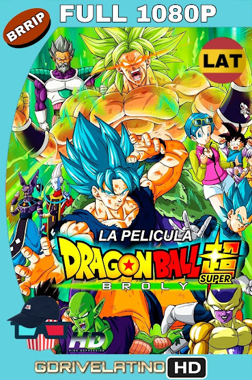 Dragon Ball Super: Broly (2018) BRRip 1080p Latino-Japones MKV