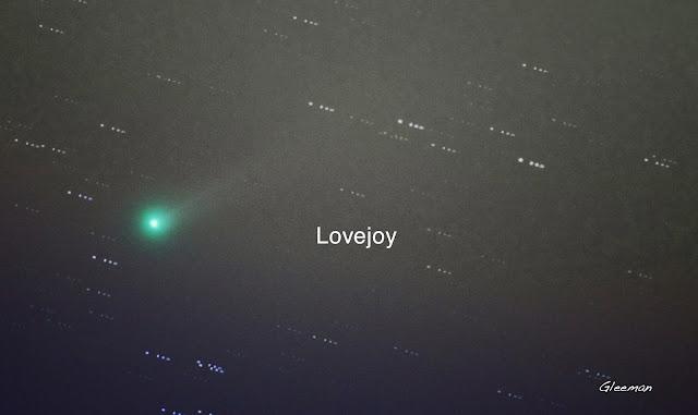 陽台外的愛嬌姨彗星 Lovejoy Pentax 75SDHF (500mm)+ K5