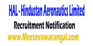 HAL (Hindustan Aeronautics Limited) Recruitment Notification